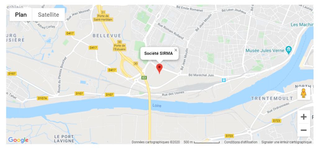 adresse SIRMA